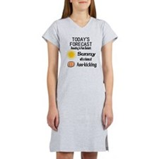 Castle Chance of Asskicking Women's Nightshirt