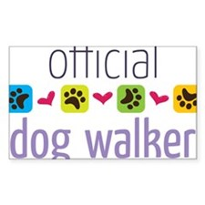 Official Dog Walker Decal