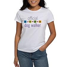 Official Dog Walker Tee