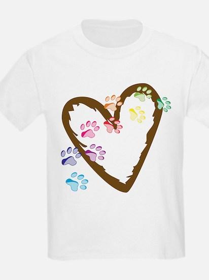 Paw Heart T-Shirt