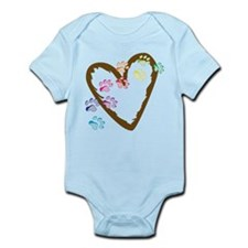 Paw Heart Infant Bodysuit