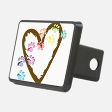 Paw Heart Hitch Cover