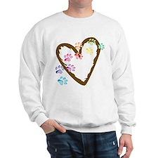 Paw Heart Sweatshirt