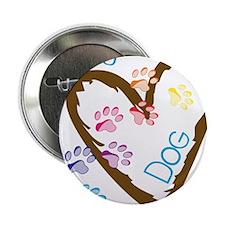 """Lucky Dog 2.25"""" Button"""