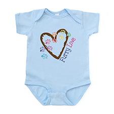Furry Love Infant Bodysuit