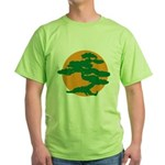 Bonsai Tree Green T-Shirt