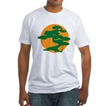 Bonsai Tree Fitted T-Shirt