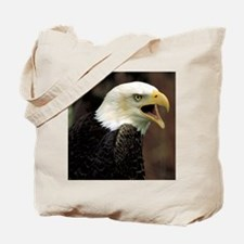 Voiceful Bald Eagle Tote Bag