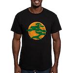 Bonsai Tree Men's Fitted T-Shirt (dark)