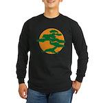 Bonsai Tree Long Sleeve Dark T-Shirt