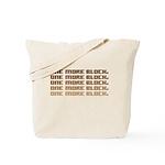 One More Block Tote Bag