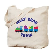 Jelly Bean Train Tote Bag