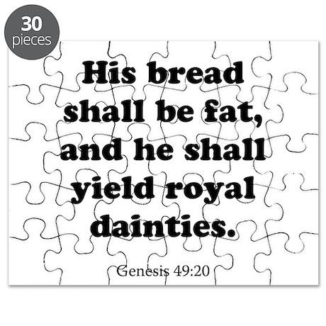 Genesis 49:20 Puzzle