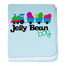 Jelly Bean Boy baby blanket