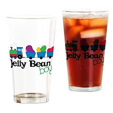 Jelly Bean Boy Drinking Glass