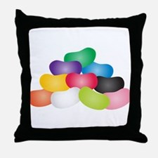Jelly Beans Throw Pillow