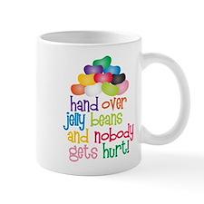 Hand Over Jelly Beans Small Mug