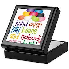 Hand Over Jelly Beans Keepsake Box