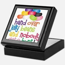 Hand Over Jelly Beans Keepsake Box