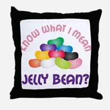 Know What I Mean Throw Pillow