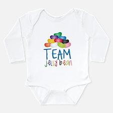 Team Jelly Bean Long Sleeve Infant Bodysuit