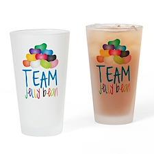 Team Jelly Bean Drinking Glass