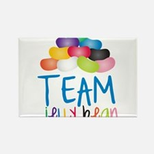 Team Jelly Bean Rectangle Magnet
