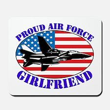 Proud Air Force Girlfriend Mousepad