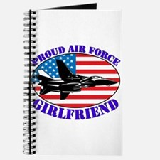Proud Air Force Girlfriend Journal