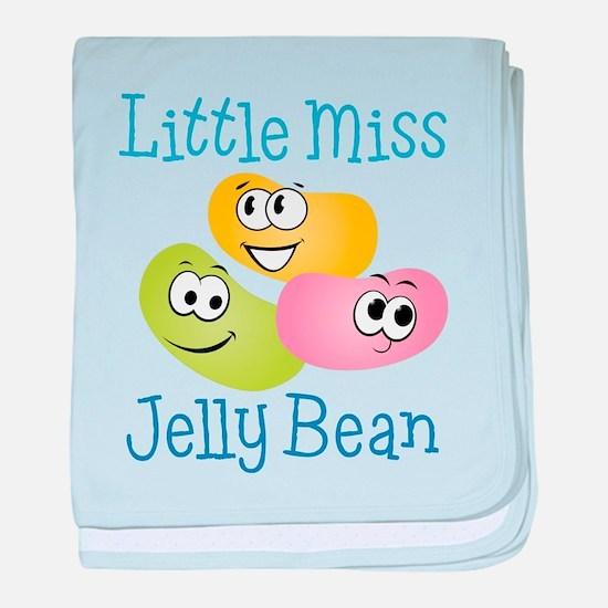 Little Miss Jelly Bean baby blanket