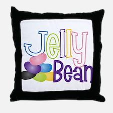 Jelly Bean Throw Pillow