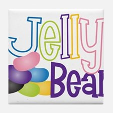 Jelly Bean Tile Coaster