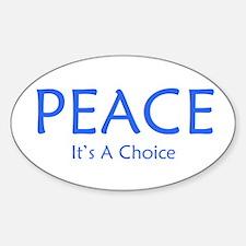 Choose Peace Decal