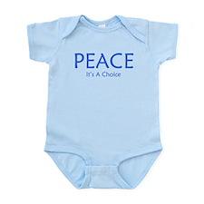 Choose Peace Infant Bodysuit