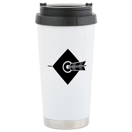 Arrow hit a target Stainless Steel Travel Mug