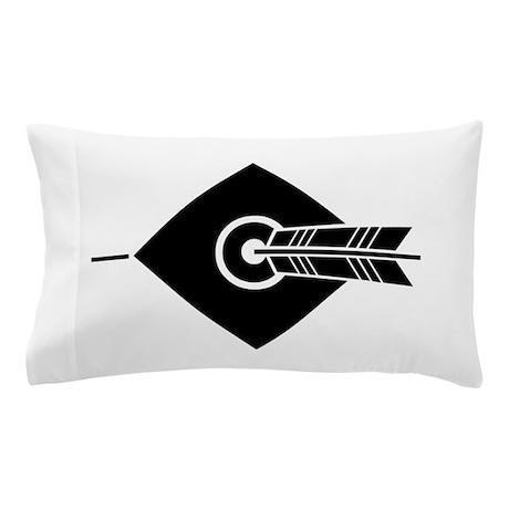 Arrow hit a target Pillow Case