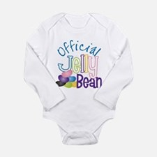 Official Jelly Bean Long Sleeve Infant Bodysuit