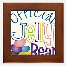 Official Jelly Bean Framed Tile