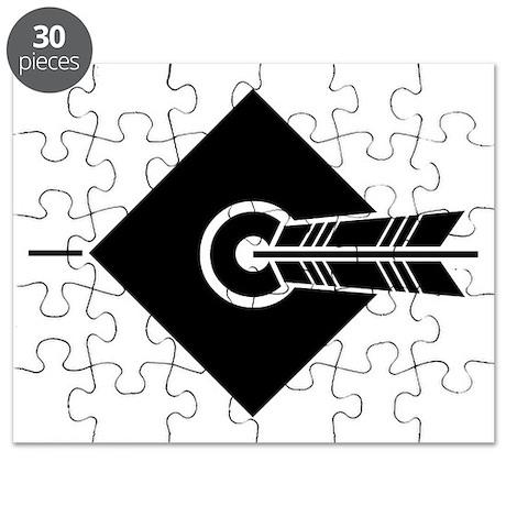 Arrow hit a target Puzzle