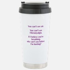 Funny Fibromyalgia Travel Mug