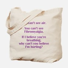 Funny Fibromyalgia Tote Bag