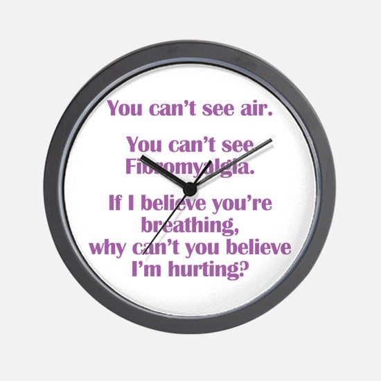 Unique Fibromyalgia Wall Clock