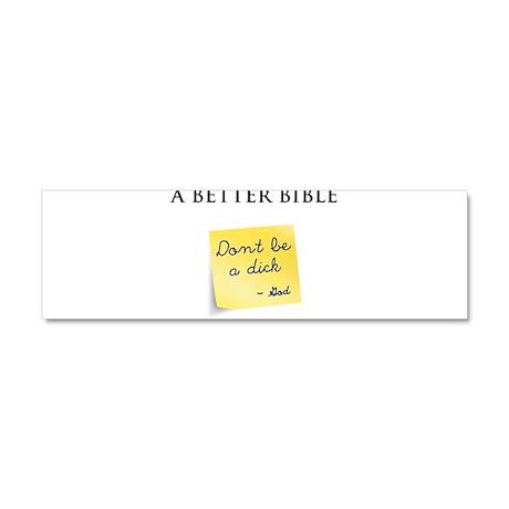 A Better Bible Car Magnet 10 x 3