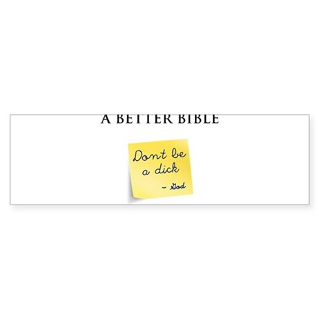 A Better Bible Sticker (Bumper 10 pk)