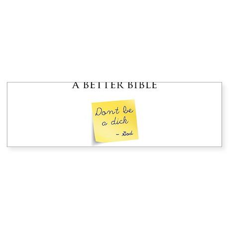A Better Bible Sticker (Bumper)
