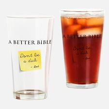 A Better Bible Drinking Glass