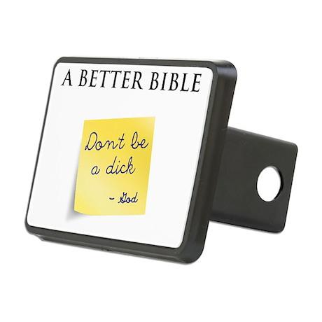 A Better Bible Rectangular Hitch Cover