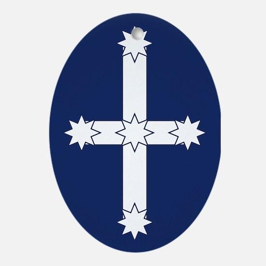 Eureka Flag of Australia Oval Ornament
