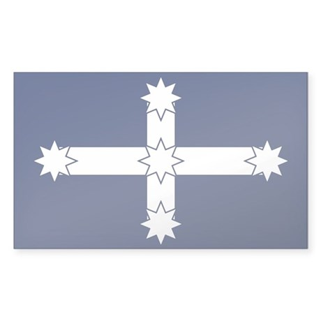 Eureka Flag Of Australia Rectangle Sticker