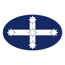 Eureka Flag of Australia Oval Stickers